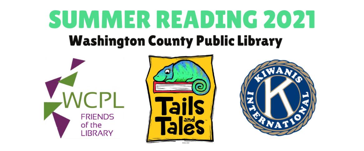 Registration is open! Tails & Tales 2021 Summer Reading Program